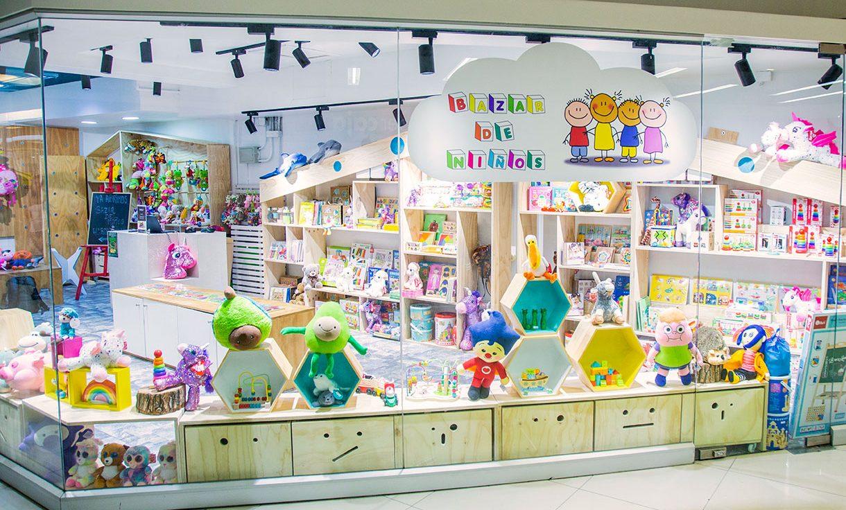 bazar de niños tienda